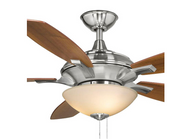 Hampton Bay Springview 52 in. Brushed Nickel Ceiling Fan