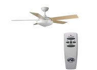 Hampton Bay Bennington 52 in. Matte White Ceiling Fan