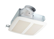 NUTONE LoProfile 80 CFM Ceiling/Wall Exhaust Bath Fan with Oval or Round Duct