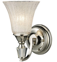 Trump Home 1-Light Polished Nickel Wall Sconce