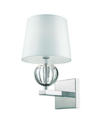 Speranza Collection 1-Light Chrome Wall Sconce