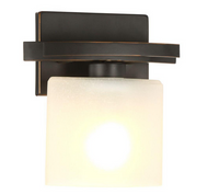 Ettrick 1-Light Oil Rubbed Bronze Wall Sconce