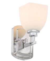 World Imports Galway Collection 1-Light Chrome Sconce