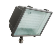 Lithonia Wall-Mount Triple-Tube Outdoor Bronze Fluorescent Fixture