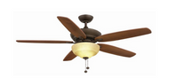 Hampton Bay Langston 60 in. Oil-Rubbed Bronze Ceiling Fan
