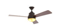 Hampton Bay Trieste 52 in. Oil Rubbed Bronze Ceiling Fan