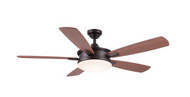 Daylesford 52 in. LED Indoor Oiled-Rubbed Bronze Ceiling Fan