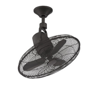 Bentley III 22 in. Oscillating Natural Iron Ceiling Fan