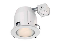 (2)  Commercial Electric 5 in. White Recessed Shower Kit
