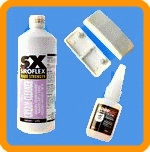 Various extra products for UPVC
