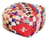 Boucherouite Rug Pouf