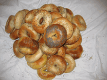 NEW YORK Mini Bagels (kosher)