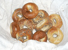 24 Kosher New York Mini Bagels (2 Dozen)