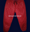 Mens Lambskin Leather Sweat Pants Style LSP111 Diamond/Quilted stitching
