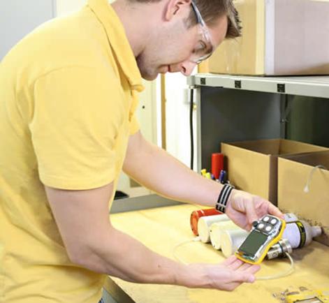 Personal Gas Detectors Calibration & Service