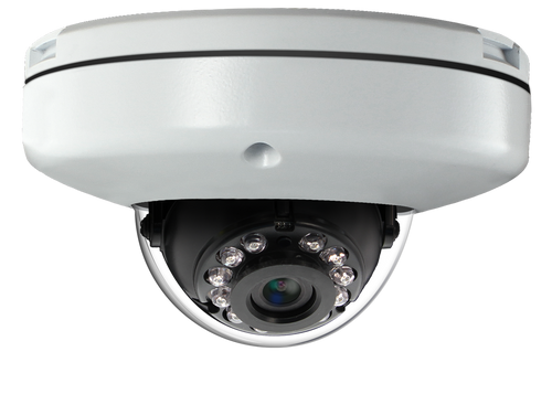 2MP IR Low Profile Indoor/Outdoor IP Dome Camera with WDR