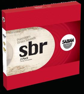 "Sabian Sbr 2-Pack 14"" Hatss 18"" Crash Ride"