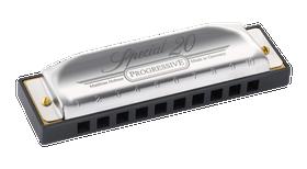 Hohner Special 20 Progressive Harmonica 560PBX in G