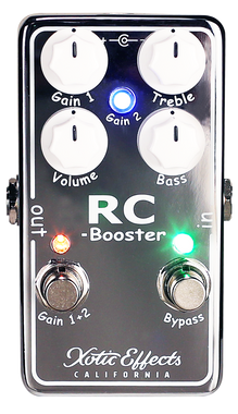 Xotic RC Booster Pedal RCB-V2