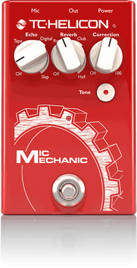TC Helicon Mic Mechanic 2 Vocal Effect Pedal