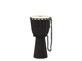 Meinl Rope Tuned Headliner® Series Wood Djembe in Black River (HDJ3-M)