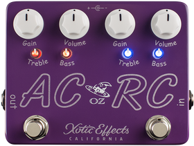 Xotic Effects AC/RC Oz Noy Limited Edition Booster Pedal