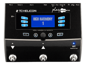 TC Helicon Voice Play Acoustic Guitar and Vocal Effects Processor