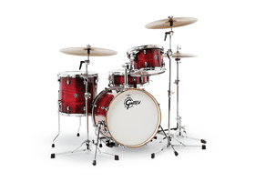 Gretsch Catalina Club 4 piece Shell Pack Gloss Crimson Burst