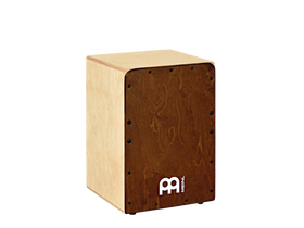 Meinl Jam Cajon with Baltic Birch Body and Almond Birch Frontplate