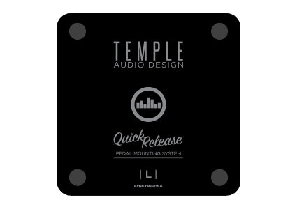 Temple Audio mountings Large plates for T series pedal Boards