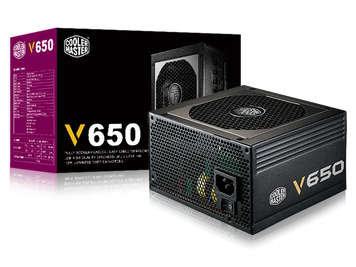 Cooler Master V650 - 650W Full Modular 80+ Gold Certified Power Supply
