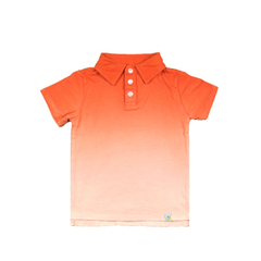 Ombre Polo - Orange