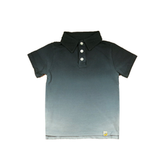 Ombre Polo - Charcoal
