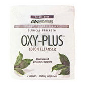 American Nutriceuticals,  Oxy-Plus Colon Cleanser (20 packets) *** DISCONTINUED