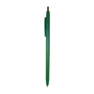 Retractable ballpoint ink pen (Green)