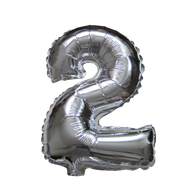 Number Balloons (Silver 2)