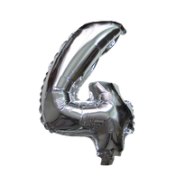 Number Balloons (Silver 4)