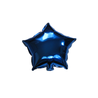 "Star Shape Balloon (10"" Blue)"