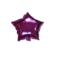 "Star Shape Balloon (10"" Fuchsia)"