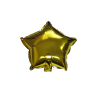 "Star Shape Balloon (10"" Gold)"