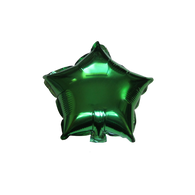 "Star Shape Balloon (10"" Green)"