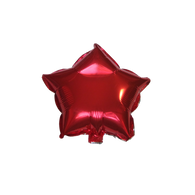 "Star Shape Balloon (10"" Red)"