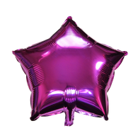 "Star Shape Balloon (17"" Fuchsia)"