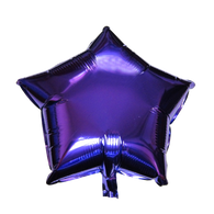"Star Shape Balloon (17"" Purple)"