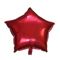 "Star Shape Balloon (17"" Red)"