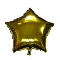 "Star Shape Balloon (17"" Gold)"