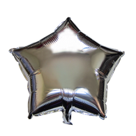 "Star Shape Balloon (17"" Silver)"