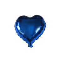 "Heart Shape Balloon (10"" Blue)"