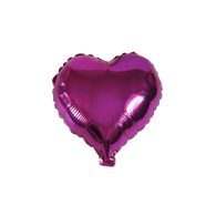"Heart Shape Balloon (10"" Fuchsia)"
