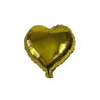 "Heart Shape Balloon (10"" Gold)"